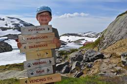 Ungene trives rundt Høgabu. - Foto: Einar J. Grieg
