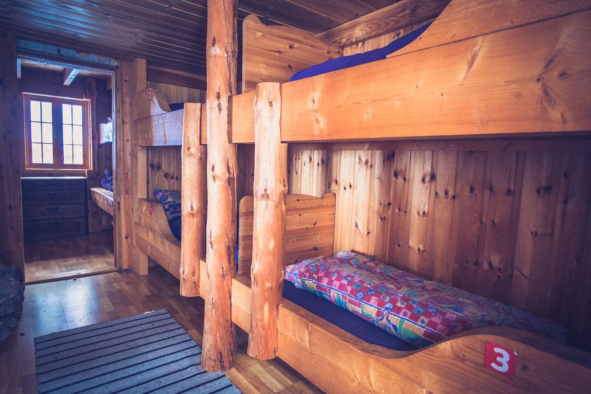 Det er hele 19 sengeplasser på Songedalen.