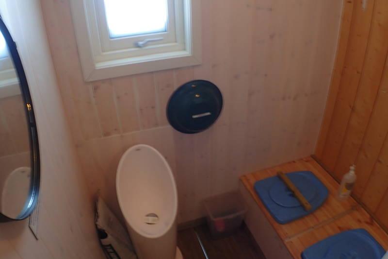 Innomhus toalett