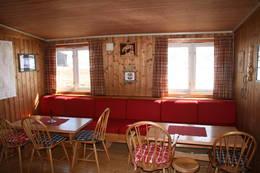 Inne på hytta - Foto: Terje Helle