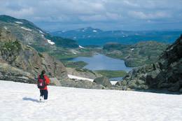 Turistskar. Høyeste punkt på løypa - Foto: Kjell Helle-Olsen