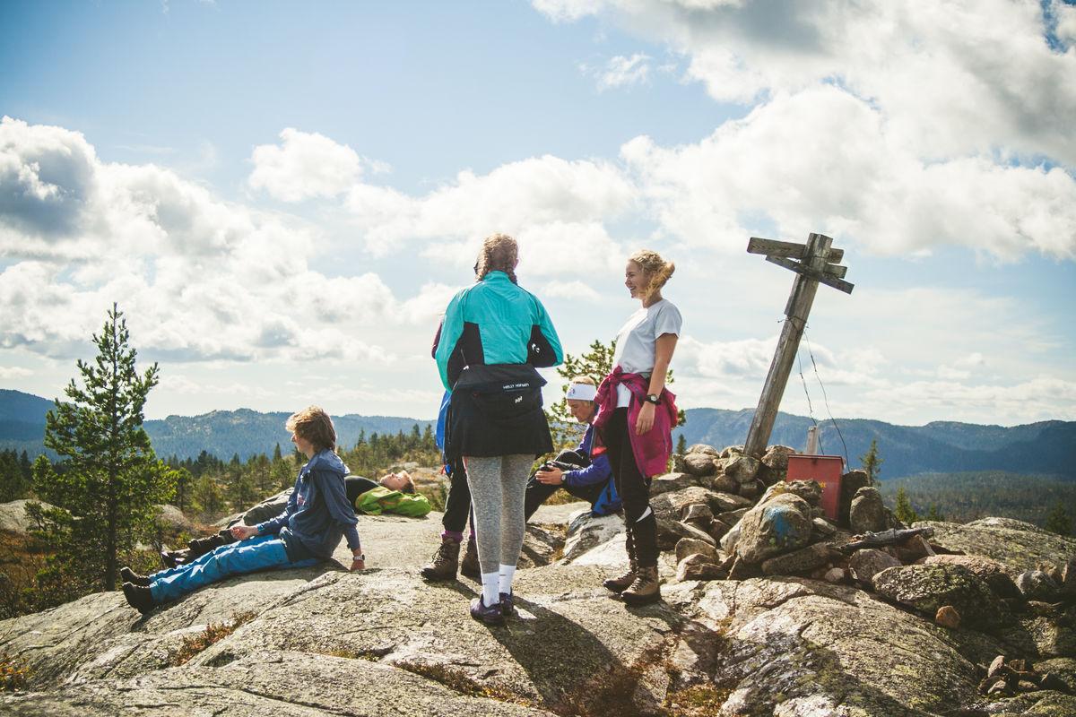 Flott utsikt fra Sveinsbuvarden