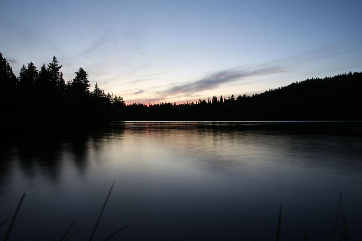 Sommerkveld ved Kobberhaugtjern