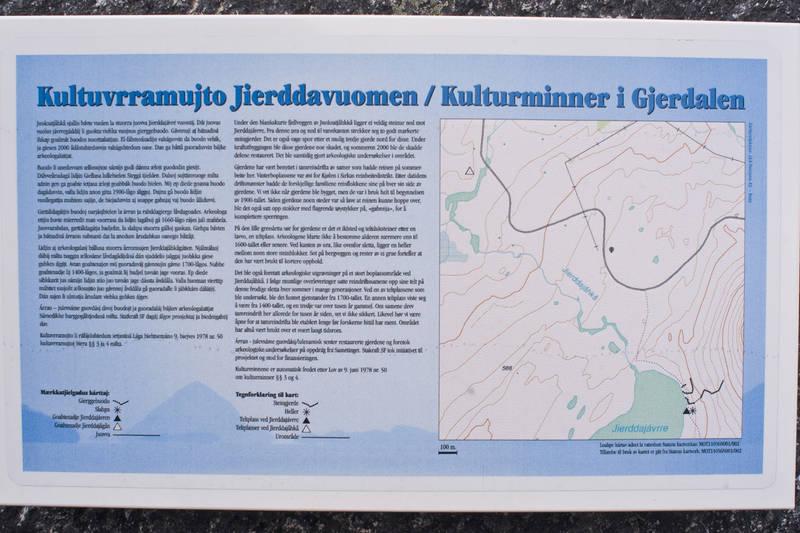 Kulturminner er det mye av i Gjerdalen