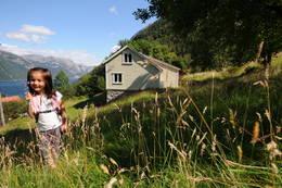 Flørli turiststasjon sommer 2012 - Foto: Kjell Helle-Olsen