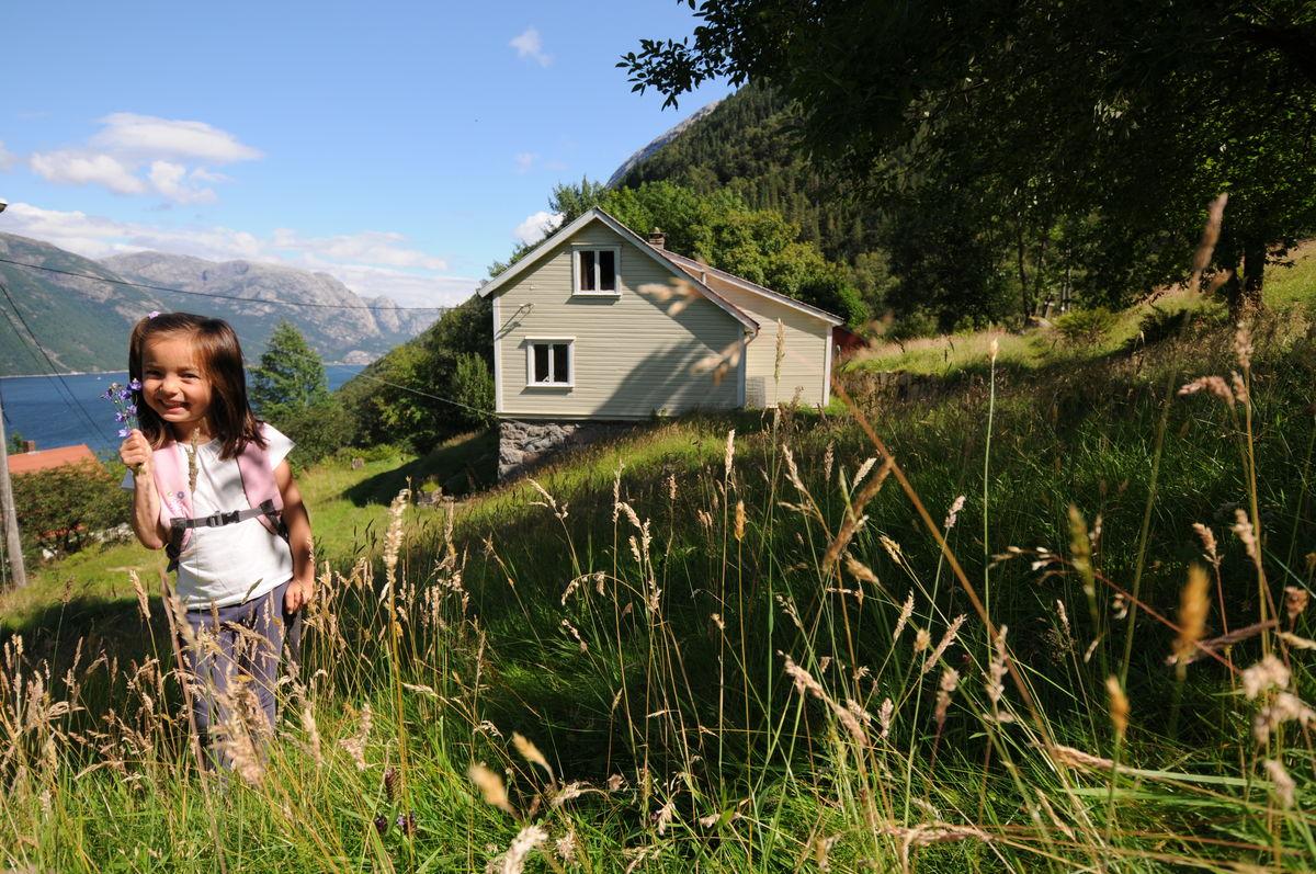 Flørli turiststasjon sommer 2012