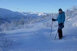 Halvannen time fra byen - og i sentrum av vinterparadis like ved Grieghytten i Bergsdalen. - Foto: Einar Grieg