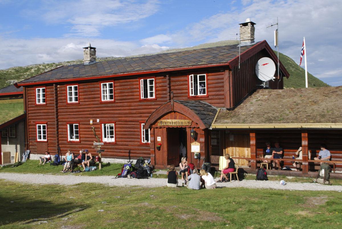 Bjørnhollia, fotografert en varm sommerdag på fellestur med DNT Oslo og Omegn.