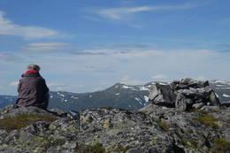 Summit view to Skarsnut -  Foto: Robert Anthony Davis