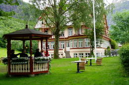 Hotell Union i Øye -  Foto: Hilde L. Magnussen