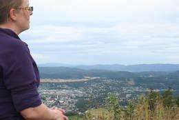 Flott utsikt over byen - Foto: Kathrine Kragøe - Innherred Reiseliv