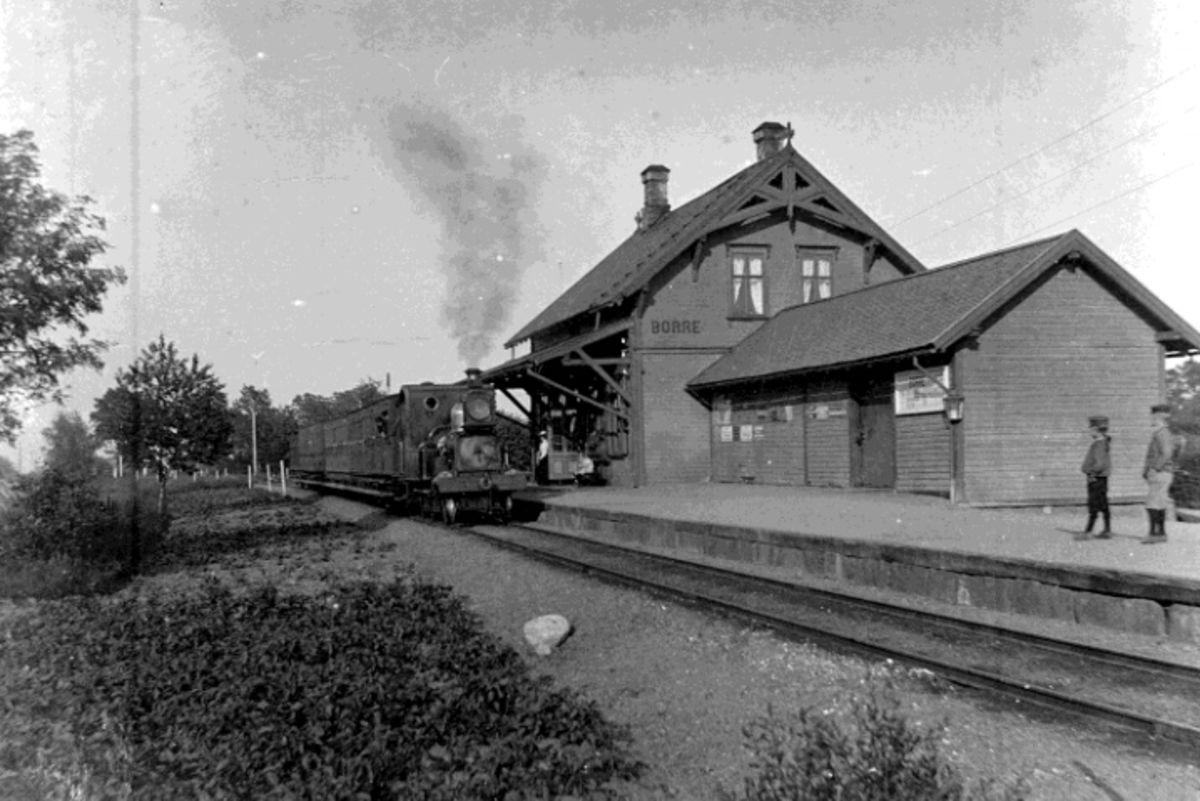 Borre stasjon arkivbilde
