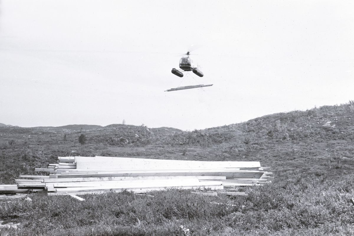 Helikoptertransport 1958