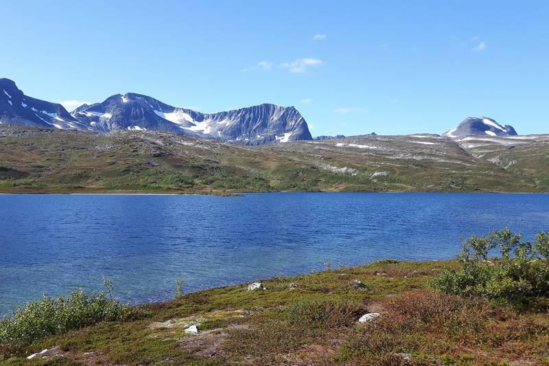 Utsikt mot Storsalen og Kringlehøa