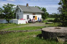 Vaktmesterboligen på Langøyene - Foto: Harald Schiøtz