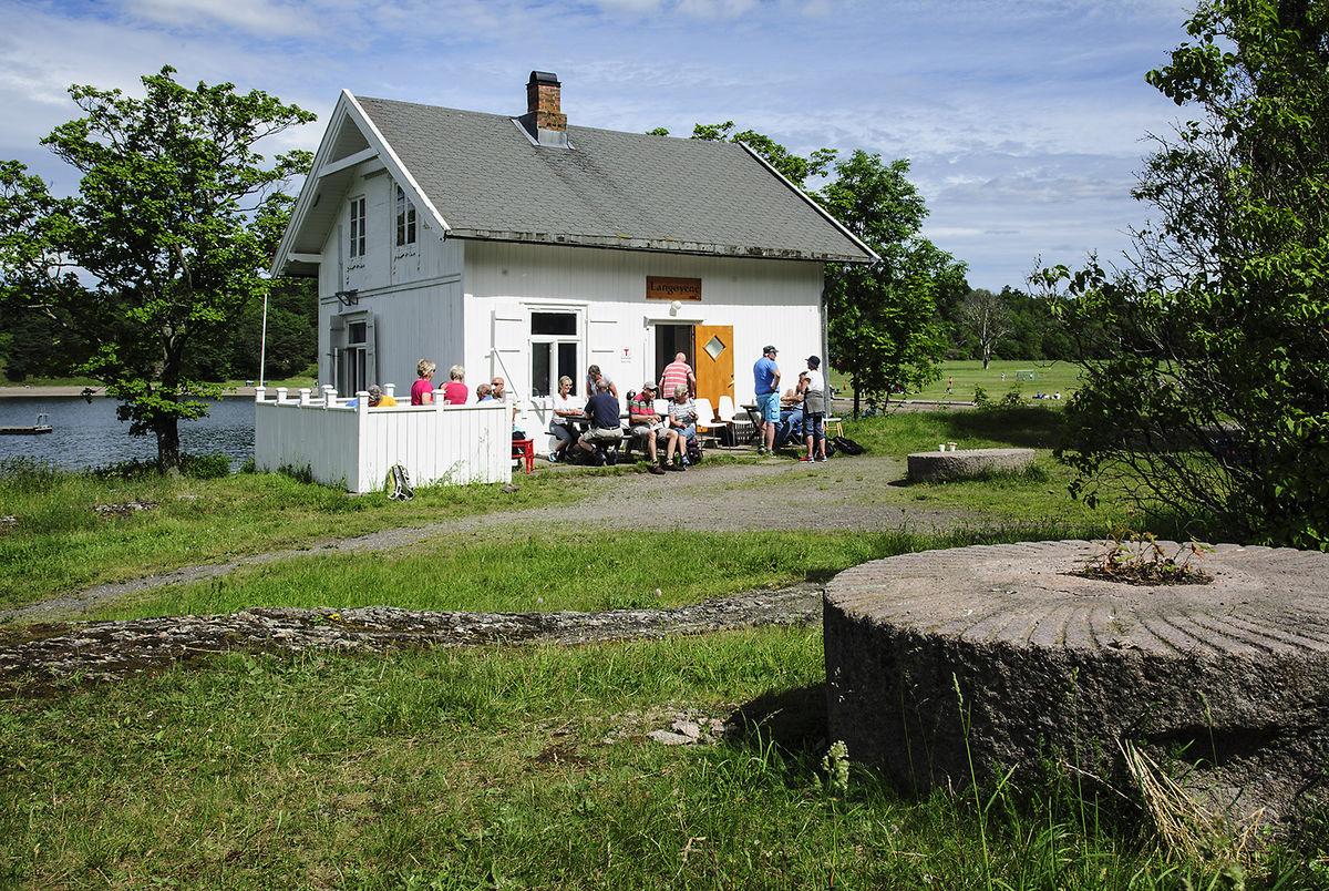 Vaktmesterboligen på Langøyene