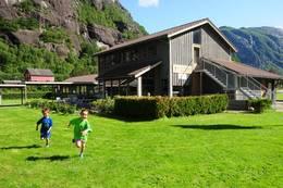 Lysefjorden Turisthytte -  Foto: Kjell Helle-Olsen