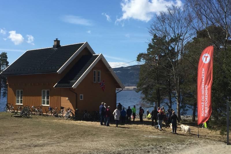 Åpning av ny hytte 1. mai 2017