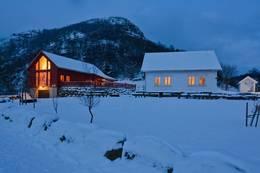Gramstad vinter -  Foto: Odd Inge Worsøe