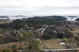 Utsikt fra Auster Varde Lundeheia -  Foto: Floke Bredland
