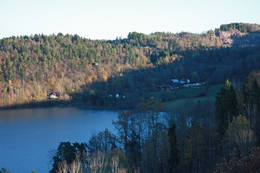 Utsikt mot Frebergsviken - Foto: Ukjent