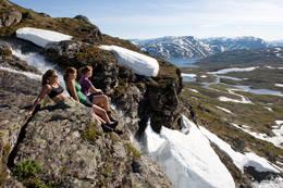 Fjelltur, fototur, sol - Foto: Terje Rakke / Nordic Life