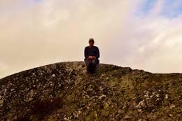 På toppen av Lysmyrkollene -  Foto: Rune Ness.