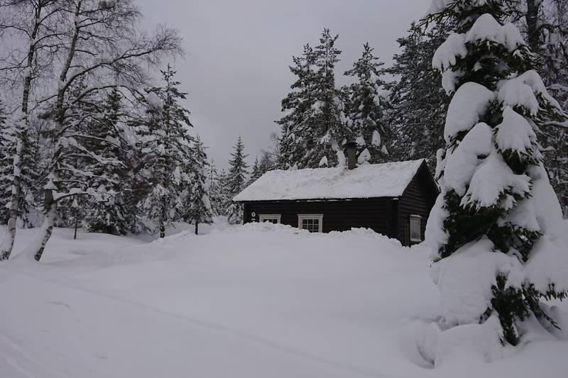 Snørik vinter på Bekkestua