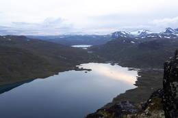 View from Høystakkane -  Foto: Leonard Hülsmann