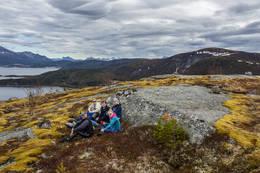 Kafferast på toppen - Foto: Kjell Fredriksen