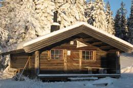 Lageråkvisla koia om vinteren - Foto: Margrete Ruud Skjeseth