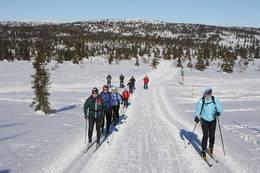 På fellestur med HHT første lørdag i mars - Foto: Ivar Helleberg
