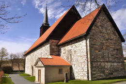 Stiklestad kirke  - Foto: