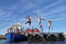 Sommerglede på Sørlandskysten - Foto: Per Thomas Skaanes