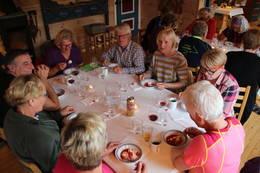 Middag på Danskehytta - Foto: Hans Christian Heian