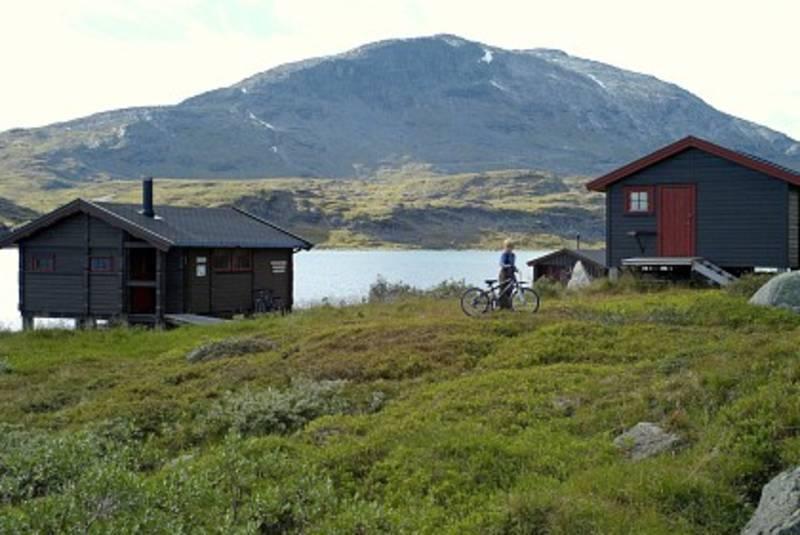 Sitashyttan, Narvikfjellene nær grensen til Sverige