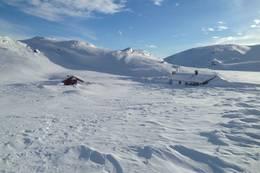 Børsteinen vinter turmuligheter i 360 grader. Hust ta med spade - Foto: Per Henriksen