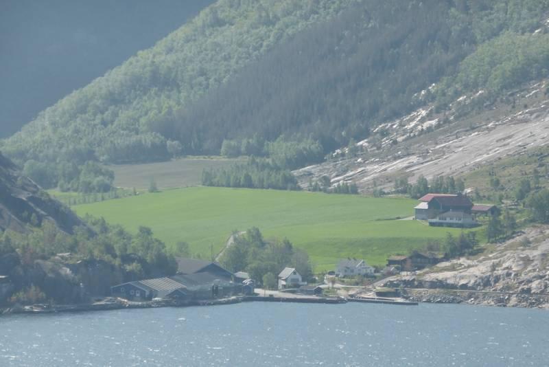 Nedre Eiane ved Lysefjorden.