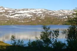 Gravvatnet, drikkevannskilde på grensen mellom Førde og Gaular kommuner - Foto: Jan Roar Sekkelsten