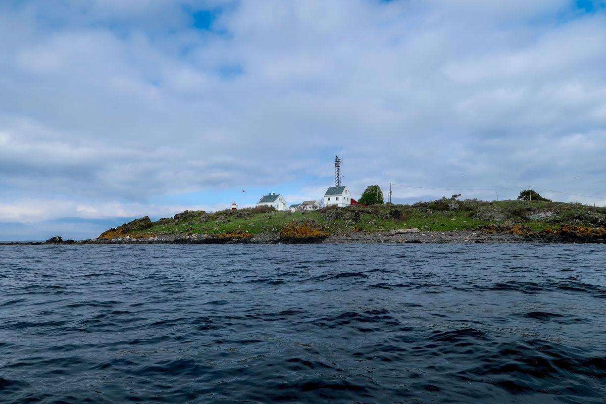 Gullholmen utenfor Jeløya i Moss
