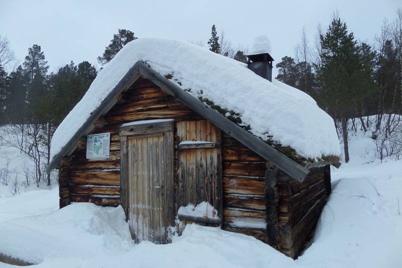 Åpen An hytta