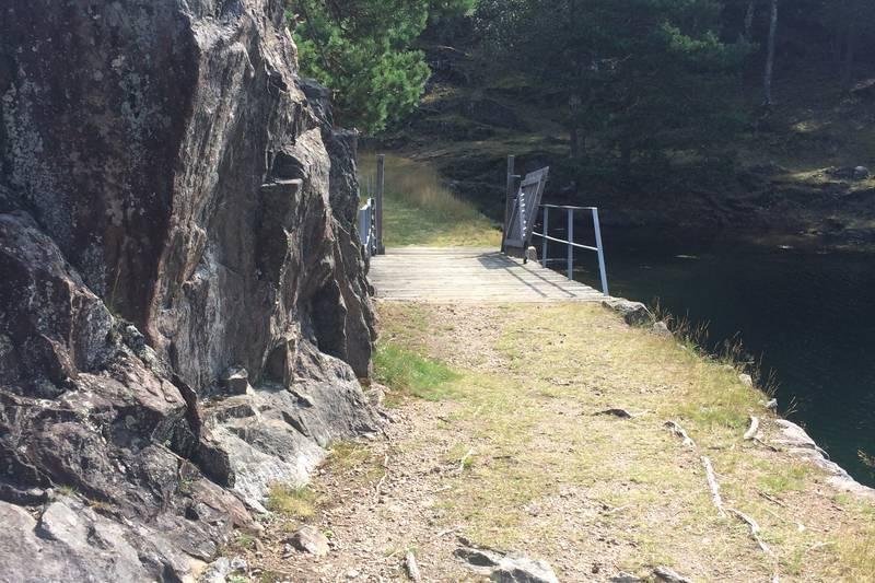 Over til Hestøya.