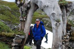 Inngangsporten til Breiablikk hytteanlegg - Foto: Torill Refsdal Aase