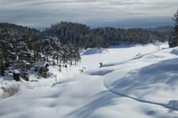 Nydelig utsikt fra Bøvelstad - Foto: DNT Oslo og Omegn