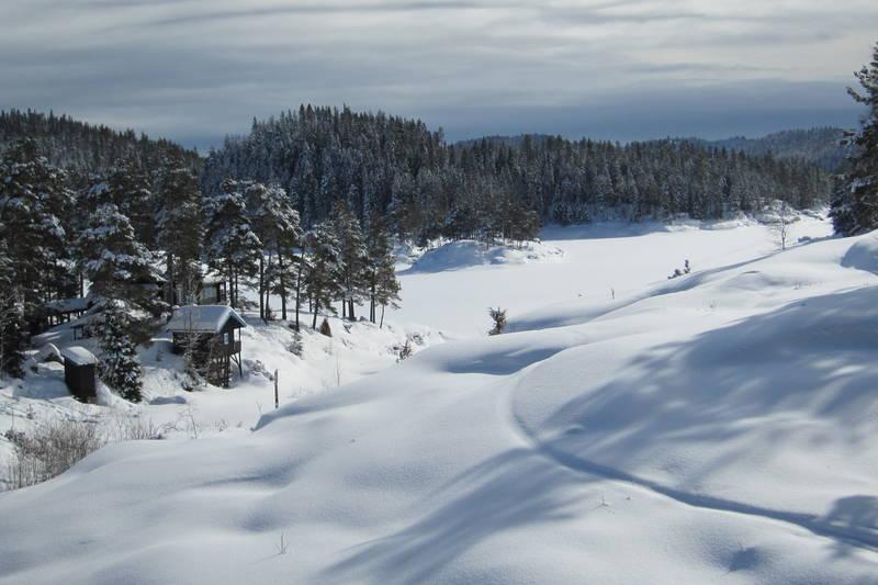 Nydelig utsikt fra Bøvelstad