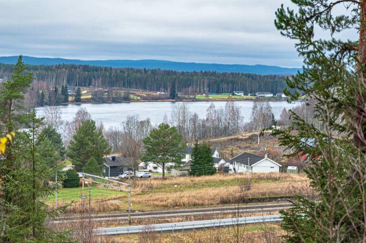 Utsikt til Sæterstøa og Glomma