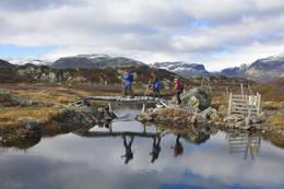 Broen over utløpet av Kistetjønn - Foto: Odd Inge Worsøe