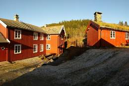 Tunet på Nersetra - Foto: Kristiansund og Nordmøre Turistforening