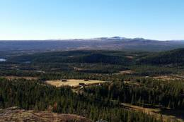 Utsikt ned til Hallandseter - Foto: Birgit K. Friis