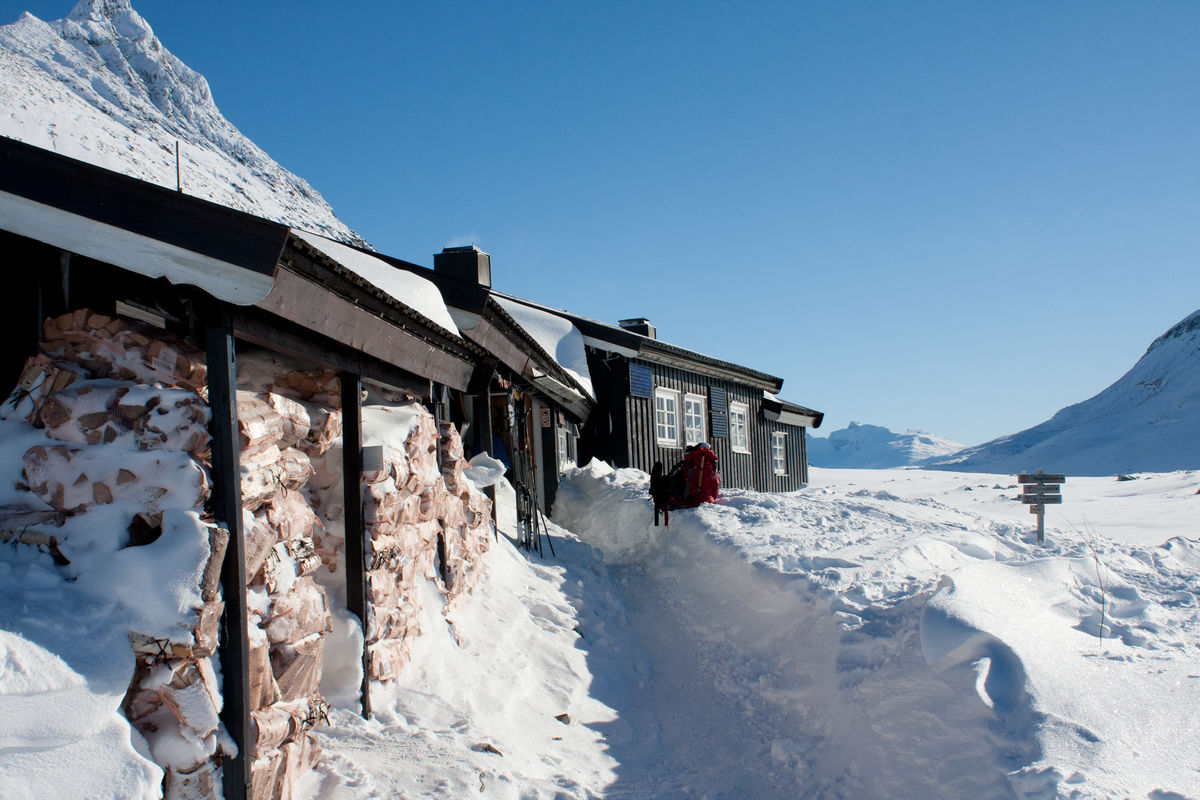 Olavsbu, tatt vinteren 2011